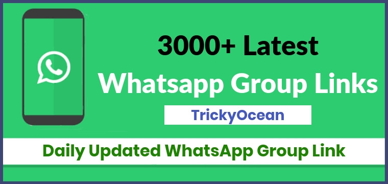 3000+ Latest WhatsApp Group Link Collection [Active & Daily